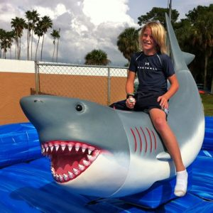 Mechanical Shark Ride from NY Party Works