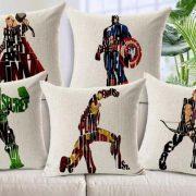 Marvel Superhero MeMe Pillows in NYC