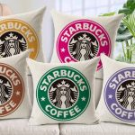 Starbucks Coffee MeMe Pillows from NY Party Works