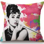 Audrey Hepburn MeMe Pillows from NY Party Works