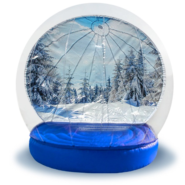 Inflatable Snow Globes with NY Party Works