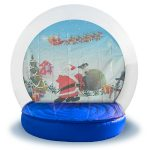 Inflatable Snow Globe from NY Party Works