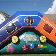 Inflatable train