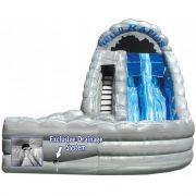 inflatable water slide 18 wild rapids with landing