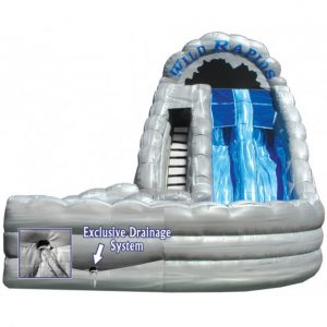 inflatable water slide 18 wild rapids with landing