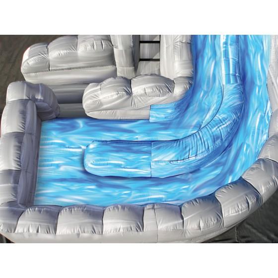 Raging Rapids Xtreme Inflatable Water Slide: 18′ WaterFall Slide