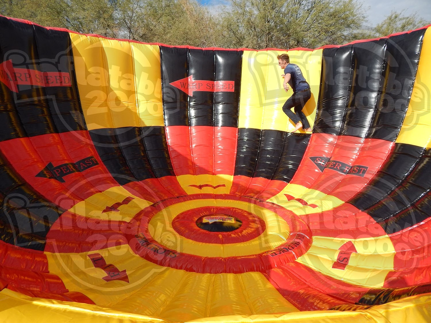 Inflatable vortex 2