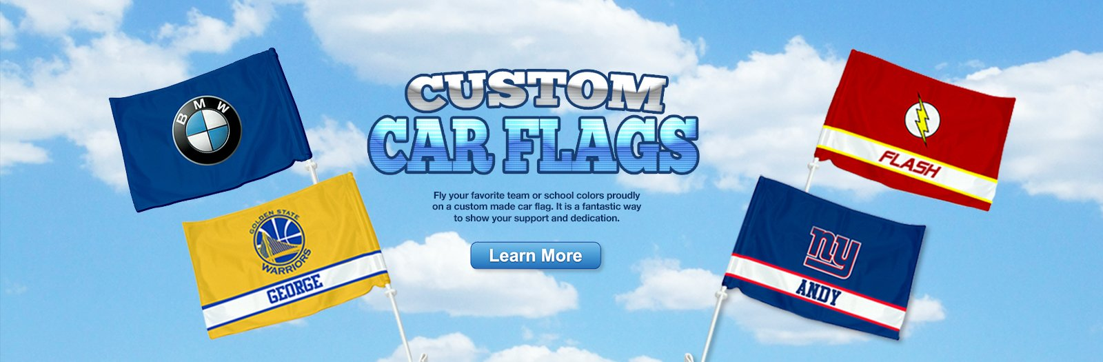 Custom Car Flags with NY Party Works