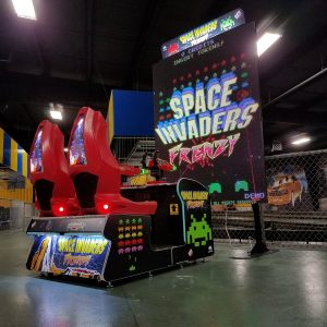 Space Invader Frenzy Game with NY Party Works