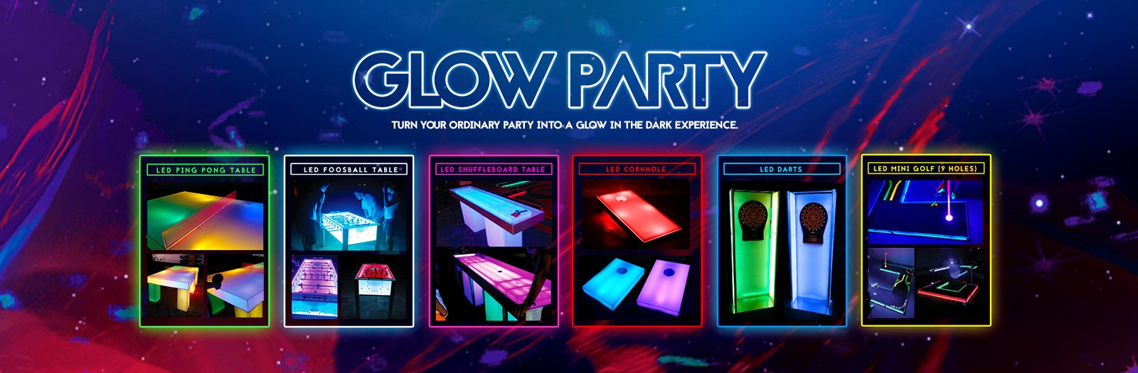 Glow Party by NY Party Works