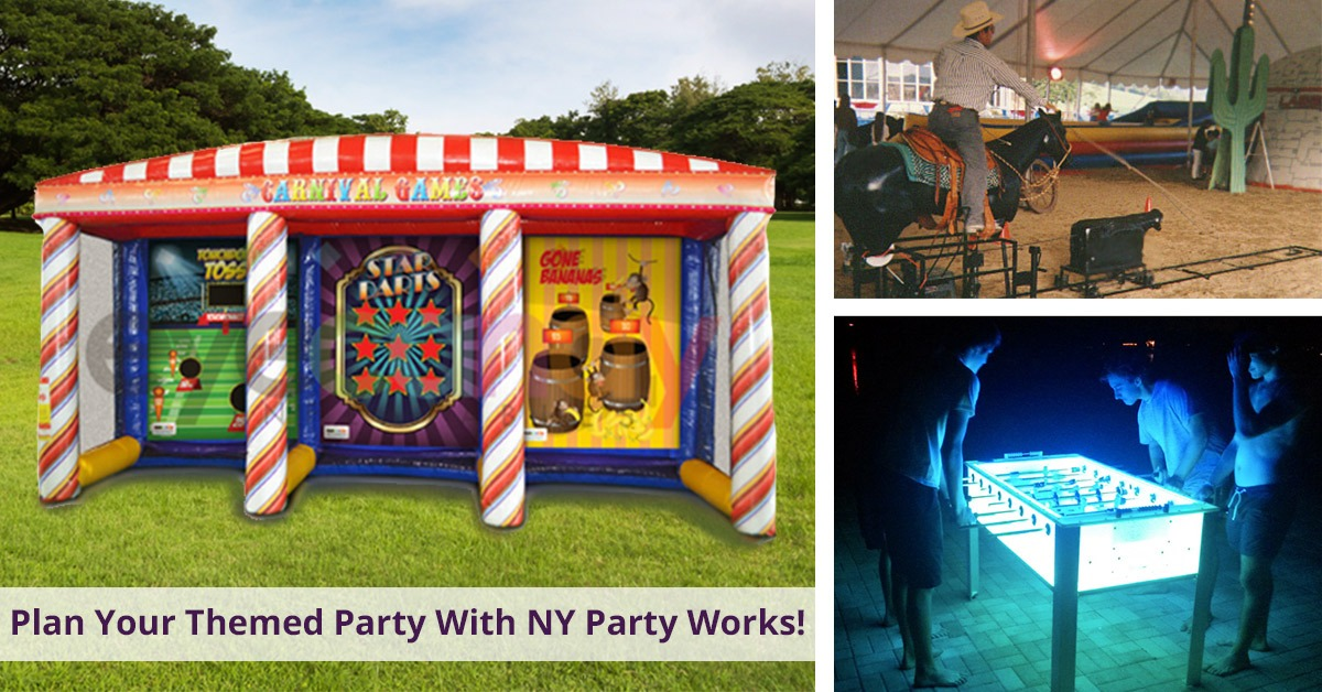 Plan you themed party with NY Party Works