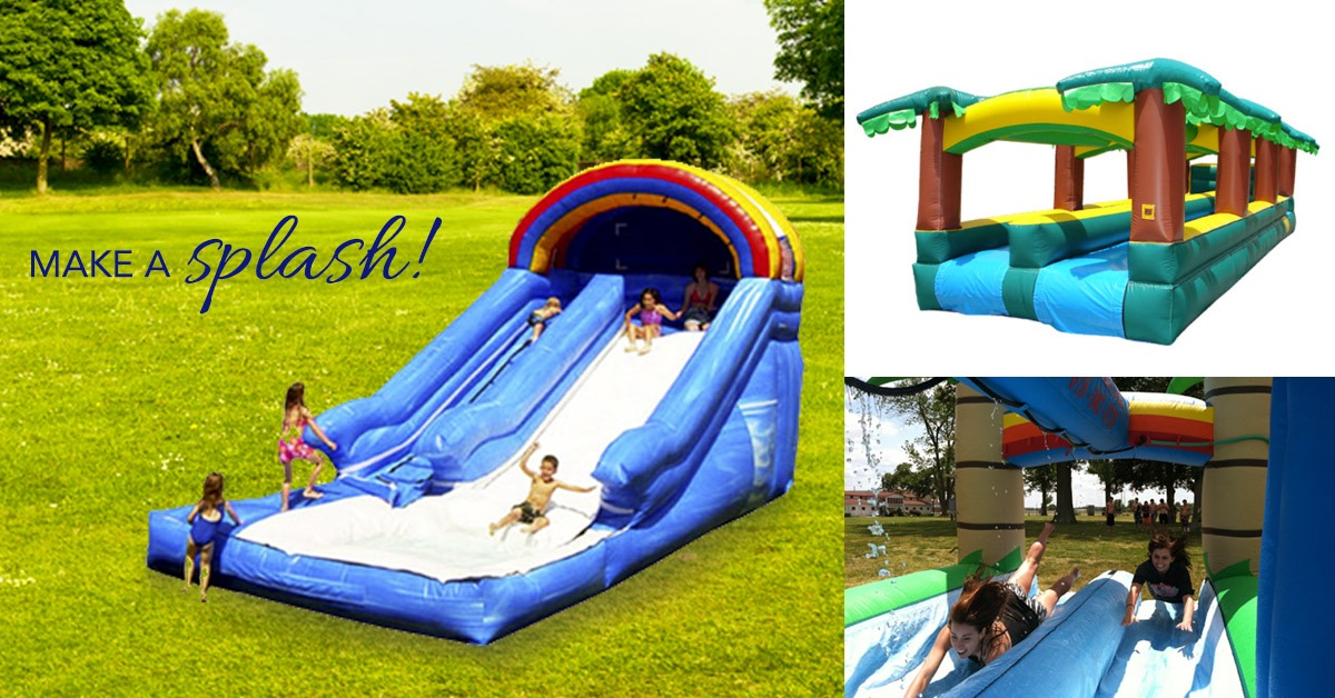 Water activities for your summery party