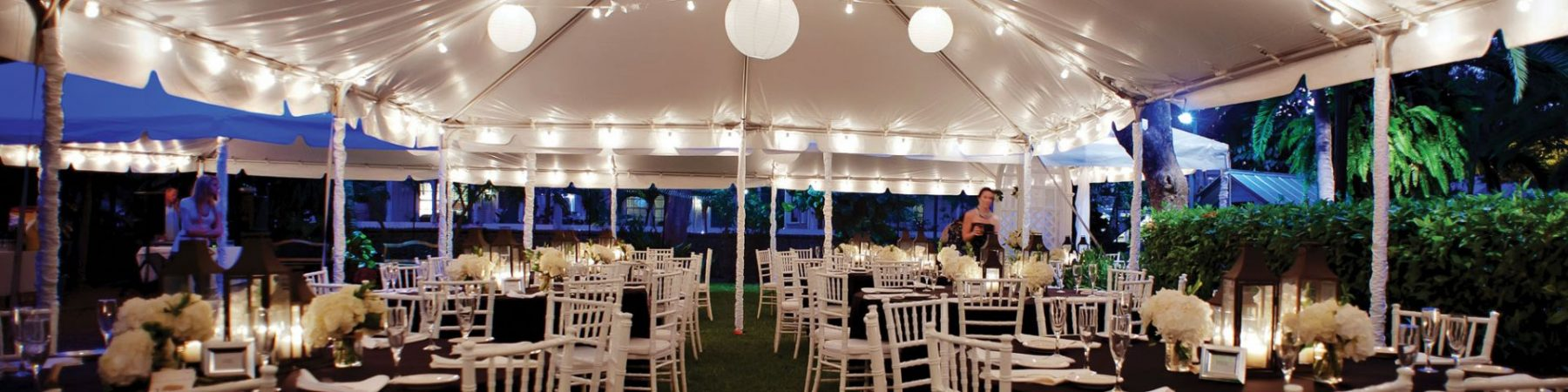 tabel, tent, and chair rentals