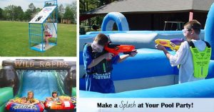 make a splash at your pool party