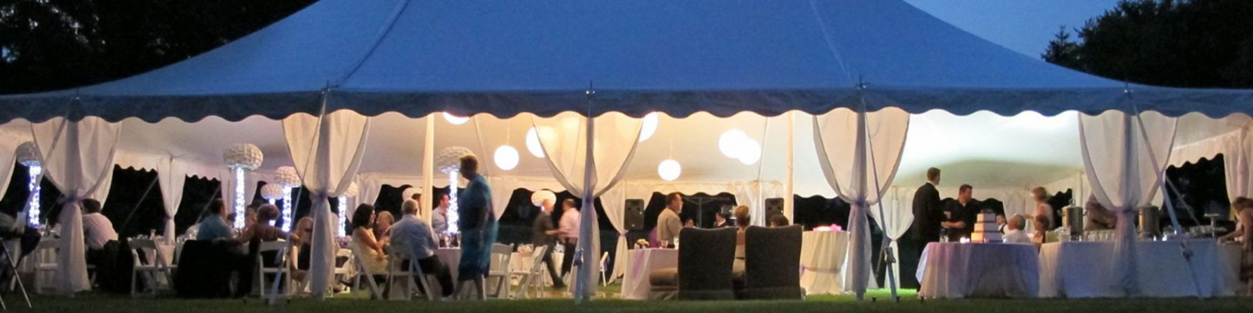 Tents to rent for big events