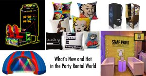What's New and Hot in the Party Rental World