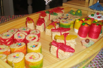 party favor candy sushi