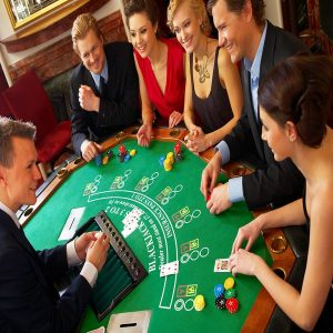 Blackjack game rental