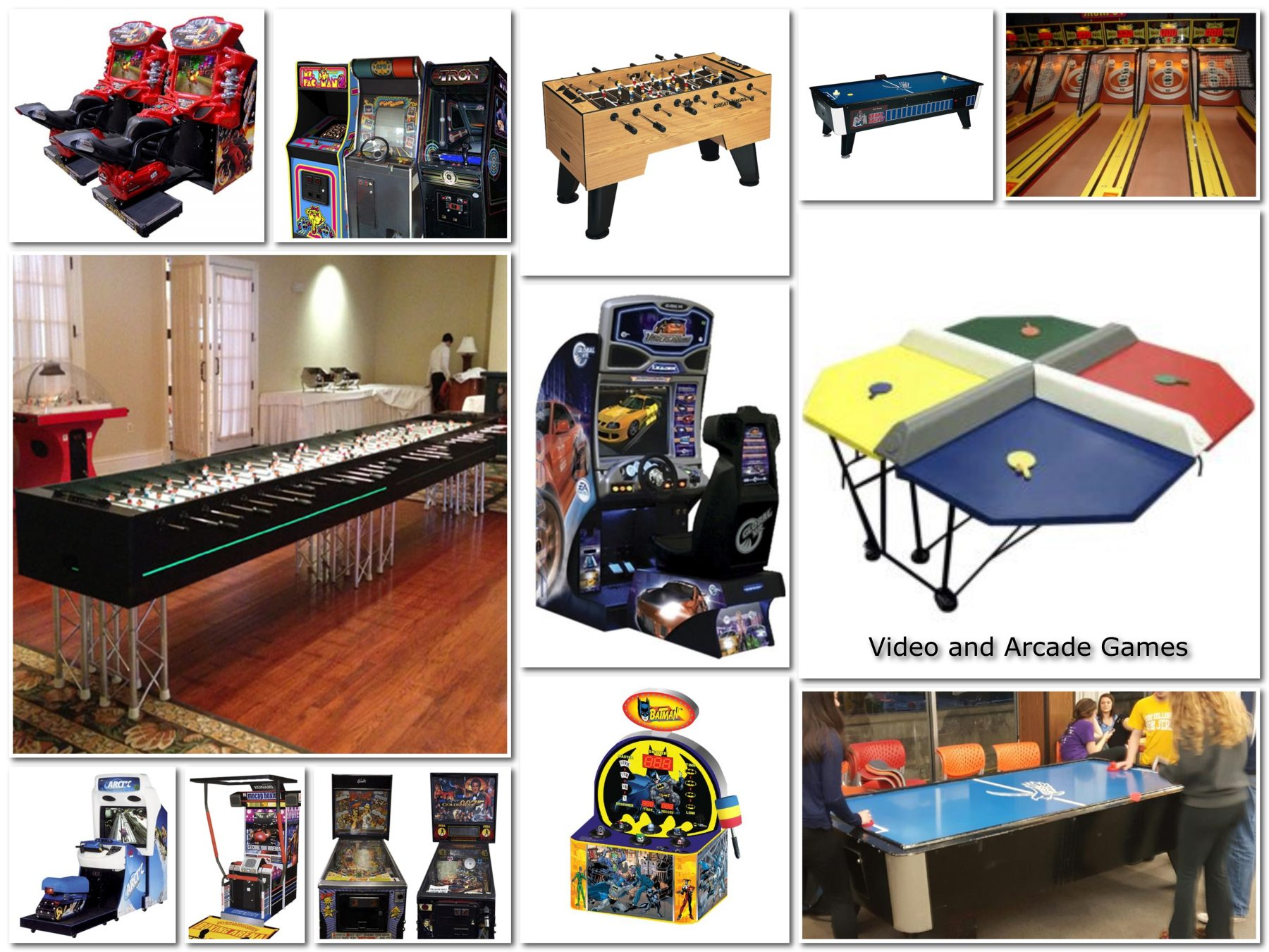 Video and Arcade Games