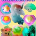 Cotton Candy Art