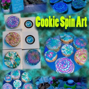 Cookie Spin Art