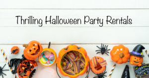Halloween party rentals