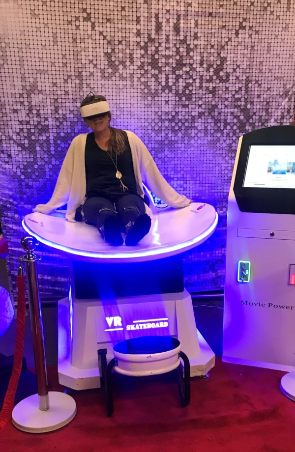 VR Slide with rider