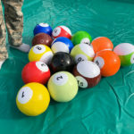Giant Billiard Soccer Balls