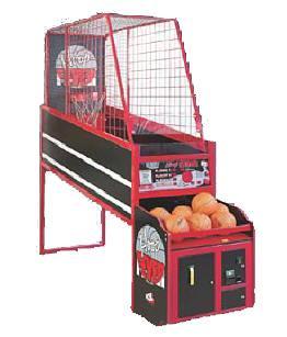 Hoop Fever Basketball Game Rental
