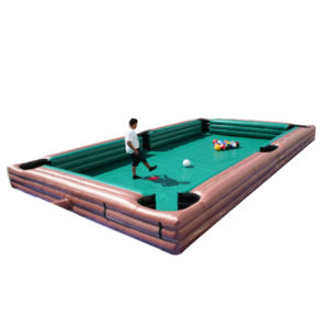 Giant inflatable pool table rental