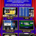 Virtual Game Show flyer