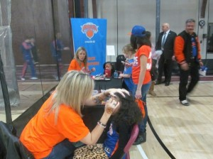 NYKnicks_FacePaint